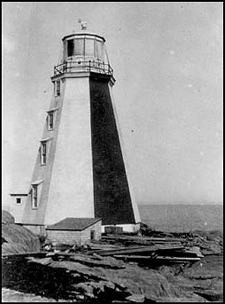 Egg Island Lighthouse, circa 1935