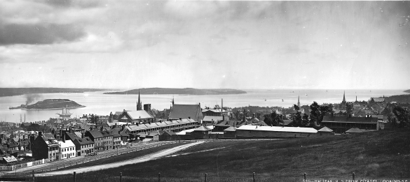Halifax from the Citadel, Looking South-East, 1871