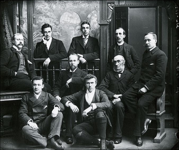 Halifax Banking Company Group (1870-80?), Original held by the Nova Scotia Public Archives