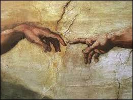 The Creation of Adam (detail) | Michelangelo, 1511-1512