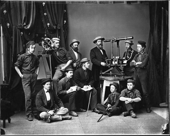 N.S. Coastal Survey Party, 1870-1880
