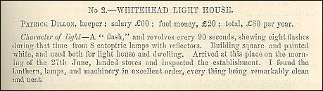 Superintendent's Report on Light Houses, 1857