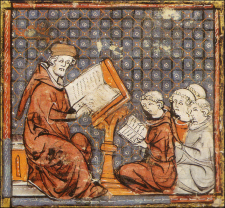 Teaching at Paris | Unknown Artist,  late 14th century